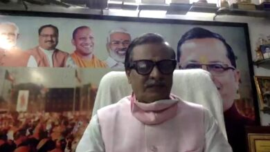 Vineet Sharda Aggarwal listened to the problems of traders through virtual meeting